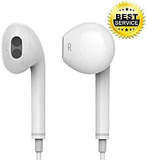 Auriculares Blanco Auriculares Para iPhone SE 5C 5S 6 6S Oreja-Pods Auriculares Manos Libres Aux