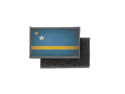 Vlag patch bedrukte badge land vintage Curaçao