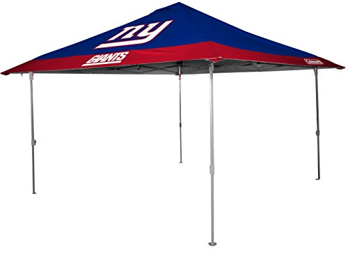 Rawlings NFL New York Giants Unisex 07561078111NFL 10x10 Eaved Canopy (All Team Option), Blue, X-Large