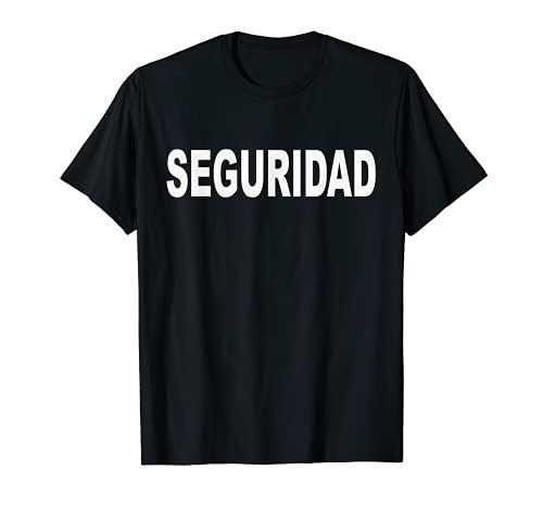 Seguridad Uniforme Guarda Profesional Vigilancia Eventos Camiseta