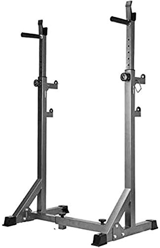 WXking Equipo de casa Barbell Stand Weight Lifting Rack Gym Family Fitness Squat Rack Ajustable Power Rack Multi Function Barbell Rack Peso Soporte