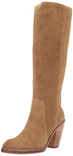 LFL by Lust for Life Women's L-Jordan Fashion Boot, tan Suede, 11 M US