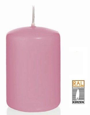 Rose Bougie Cylindre 60 x 30 mm, 40 pcs Bougies, de Belle qualité
