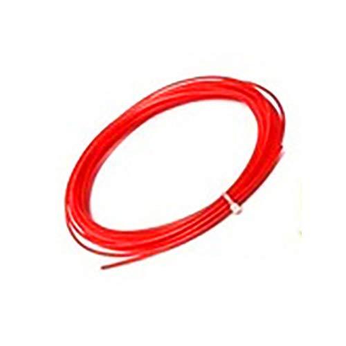 3D Pen Filament Refills, 3D Printing Pen Filament, Multicolor 5m 3D Printer PLA 1.75mm Filament plastic Rubber Consumables Material(Red)