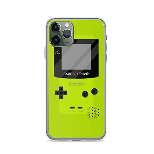 Phone Case Gameboy Color - Green Compatible with iPhone 6 6s 7 8 X XS XR 11 Pro Max SE 2020 Samsung Galaxy Anti Accessories Funny