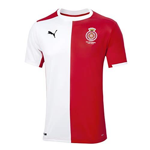 GIRONA FC Primera Equipación 2020/21 Camiseta, Hombre, Rojo, L