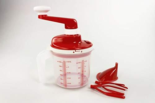 Tupperware Chef Easy Mixx rot-weiß Sahne Eiweiß Schlagen