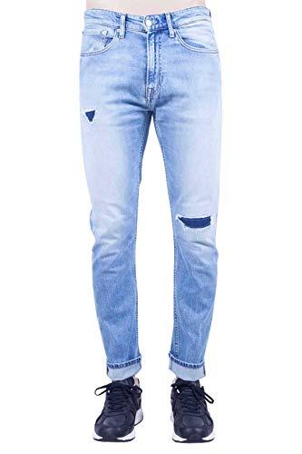 Calvin Klein Jeans - Jeans Uomo CKJ 056 Tapered con Strappi - Taglia 31