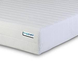 BEDZONLINE Memory Foam Mattress, Single