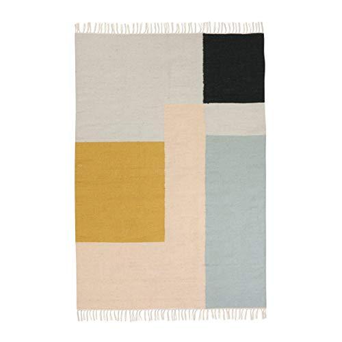 ferm Living Teppich, Wolle, 140 x 200 cm