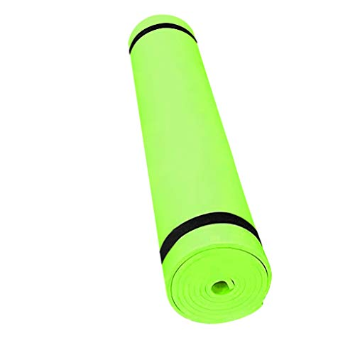 WEI MOLO EVA Yoga Mat with Carrying Strap,4mm Thick Gymnastic Pilates Fitness Mat Non-Slip Exercise for Home Gym