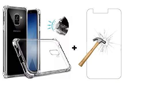 Capinha Capa Anti impacto Para Celular Samsung Galaxy J6 + Película de Vidro