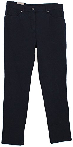 Gelco Damen Hose Jeans Pipe Fit Denim Stretch Cotton blau (40)