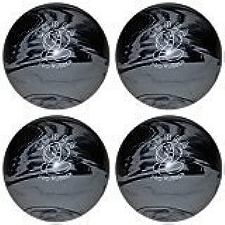 EPCO Candlepin Bowling Ball- Cobra Pro Rubber, Grey & Black - 4 Balls