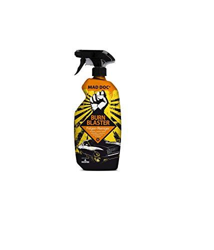 NIGRIN MAD DOCs Felgenreiniger BURN BLASTER, für polierte, verchromte und matte Stahl -und Leichtmetallfelgen, 750 ml