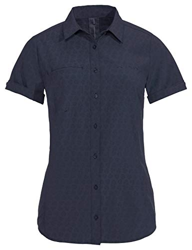 Vaude Damen Bluse Women\'s Rosemoor Shirt, Eclipse, 40, 41314