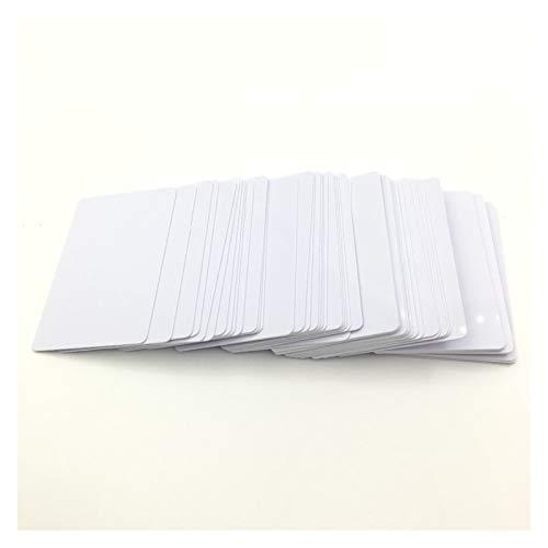 Liupin Store Tarjeta de PVC imprimible de inyección de tinta brillante de 230pc Fit para Epson R260 R270 R280 R290 R330 R390 T50 A50 L800 L801 PX650 R200 R210 R220 R230 R300 R300 Fácil de instalar y c
