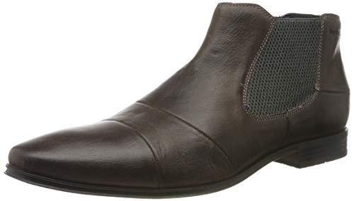 bugatti Herren 311420603200 Chelsea Boots, Grau, 44 EU