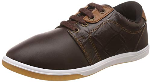 Unistar Men's Brown Sneakers-6 UK/India (40 EU) (E-6006)