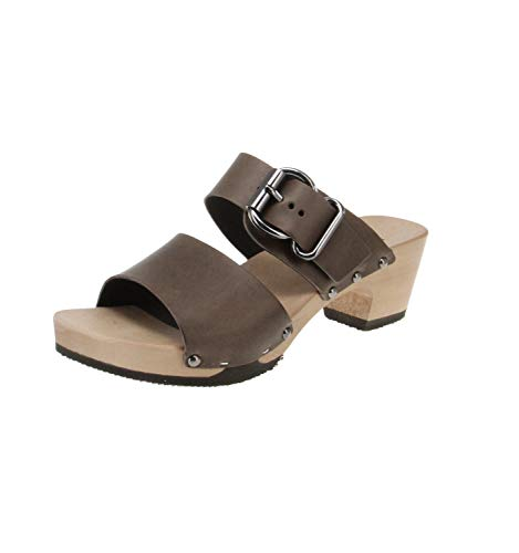 Softclox S3469 KATJA SOFTNAPPA - Damen Schuhe Sandaletten - 05-grau, Größe:40 EU