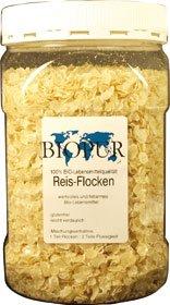 Biopur Bio Aanvullende voering voor honden rijstvlokken, per stuk verpakt (1 x 300 g)