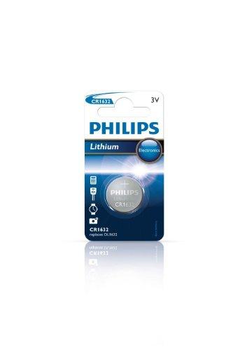 Philips Minicells Akku CR1632/00B - Haushaltsbatterien (Single-use Battery, CR1632, Lithium, 3 V, 1 Stück(e), 120 mAh)