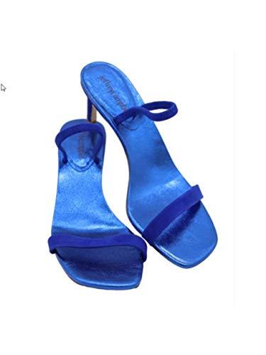 Jeffrey Campbell Hera Sandalo Blu Blu, 38