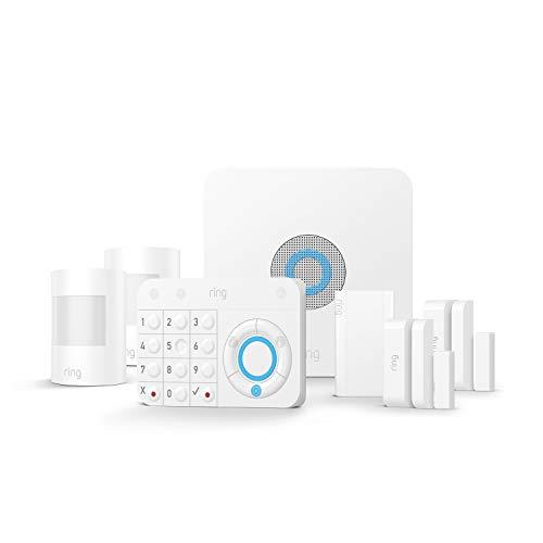 Ring Alarm Kit 7 pièces, Système de sécurité domestique avec surveillance assistée...