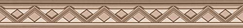 A.S. Création selbstklebende Bordüre Only Borders Borte 5,00 m x 0,05 m beige braun creme Made in Germany 936911 93691-1