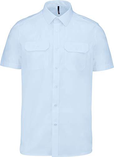 SOUL REBEL - Camisa piloto Manga Corta Hombre - 115 g/m² - Hombre