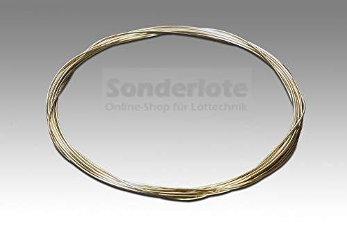 Silberlot Silberhartlot Silberlotdraht 55% Ag Abm. 0,6 x 1.000 mm