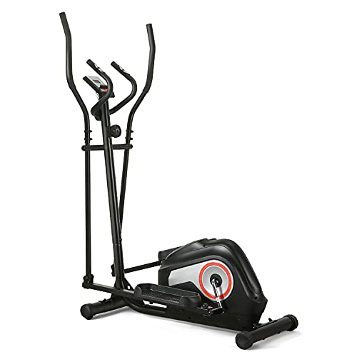 Elliptical Machine for Home Use Exercise Elliptical Cross Trainer, Magnetic Driving System, 8 Adjustable Resistance, Gym Indoor Fitness Workout