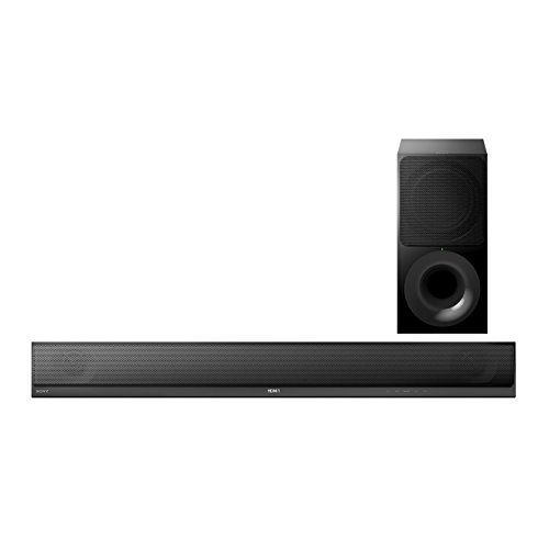 Sony HT-CT790 2.1 Multi-Room Soundbar mit 330W Ausgangsleistung, 4K UHD Pass-Thru, WiFi, NFC und Bluetooth (In/Out), +S10, schwarz
