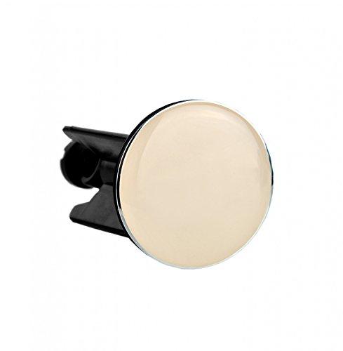 MamboCat Kela afvoerstop Montana, stoppers, beige, Ø 40 mm, met afdichtring, in hoogte verstelbaar 70-85 mm, messing/ABS-kunststof