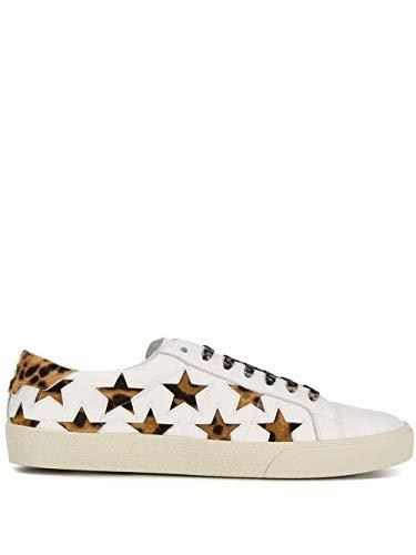 Saint Laurent Luxury Fashion Donna 5337290M5F09299 Bianco Sneakers | Stagione Permanente