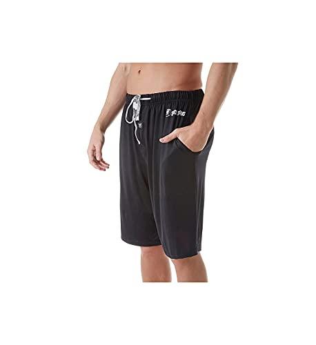 Stacy Adams Tall Men's Big Sleep Short, Black, 3X-Large