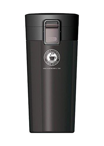 アスベル 真空断熱携帯タンブラーTL370 ブラック 3251