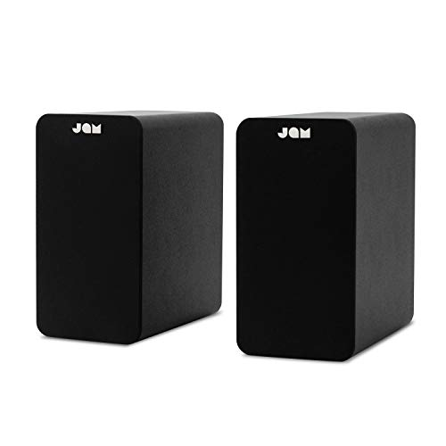 JAM, Casse Altoparlanti Bluetooth, 34.5 x 34.1 x 30.1 cm (x2), Nero