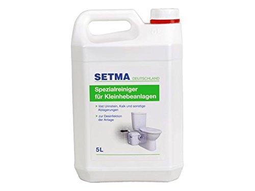 5L Setma Spezialreiniger / Entkalker für Hebeanlagen … (NUR Gewerbetreibende!)