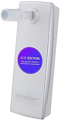 ACE KETOSCAN lite Ketose-Test - Ketone im Atem messen - Keton-Messgerät - für die Keto-Diät - Smartphone-kompatibel