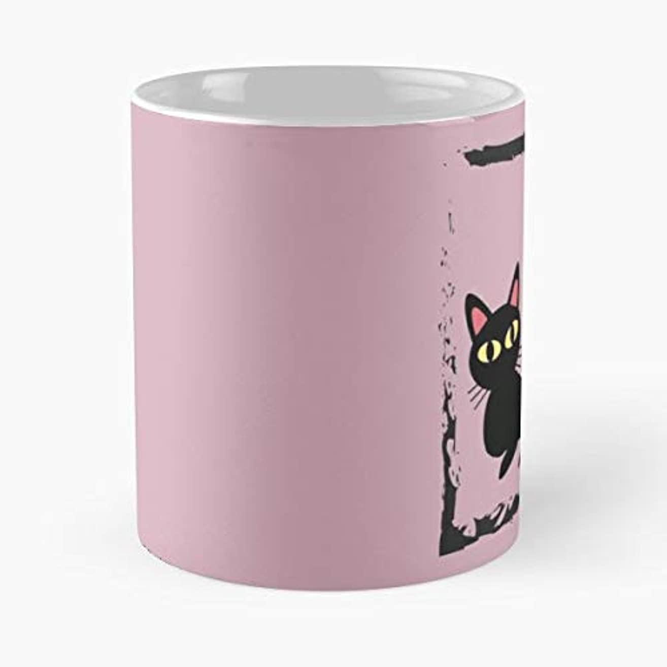 Cat Cats Neko Blackcat -funny Gifts For Men And Women Gift Coffee Mug Tea Cup White-11 Oz.