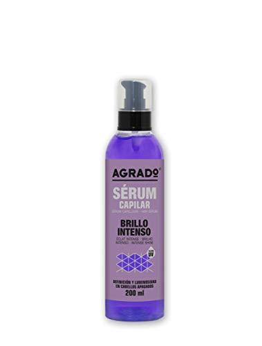 Serum Pelo Seco y Dañado Tratamiento Capilar Anti Encrespamiento Acondicionador Sin Aclarado Filtro UV 200 ml Agrado