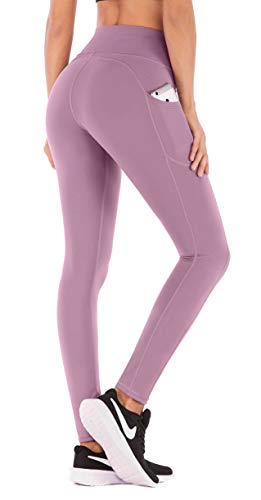 IUGA Yoga Pants with Pockets, Tummy Control, Workout Running Leggings with Pockets for Women 1