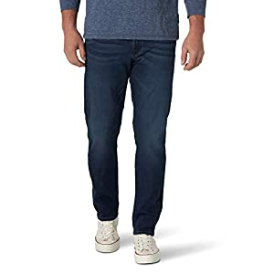 Wrangler Men's Ultra Flex Regular Fit Tapered Jean