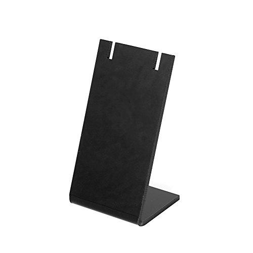 KERDEJAR Pendiente de joyería Pendientes de Oreja Organizador Soporte de exhibición Mini Rack Showcase Negro