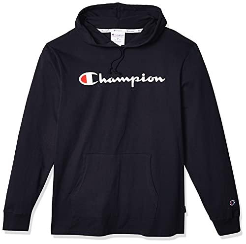 Champion Herren MIDDLEWEIGHT Hoodie Kapuzenpulli, Navy, Groß