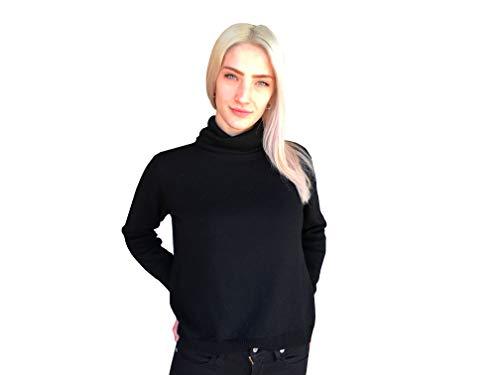 Suéter De Punto para Mujer 100% Lana - Made in Italy