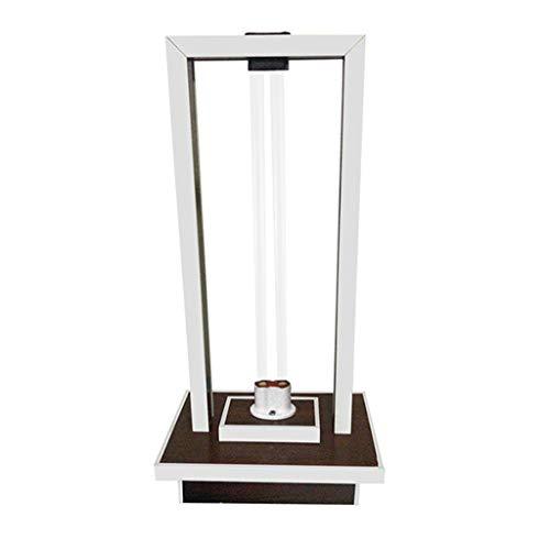 Ultraviolet Desinfectielamp Thuis Gebruik Kiemdodende Lamp Mobiel Met Ozon Slaapkamer Lamp for Mijtverwijdering Paarse Lichtbuis Sterilisatie Tafellamp 58W (Size : 58W)