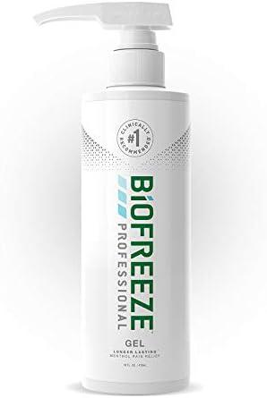 Biofreeze Professional Pain Relief Gel 16 oz Pump Green product image