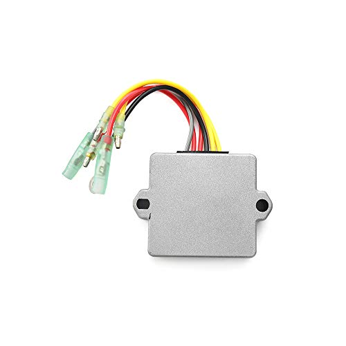 MotorFansClub Wire Voltage Regulator Fit For Compatible With Mercury Mariner 856748 883071A1 883072 883072 1 883072T
